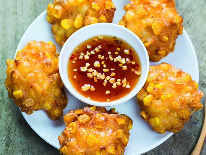 Indonesische Maïskoekjes