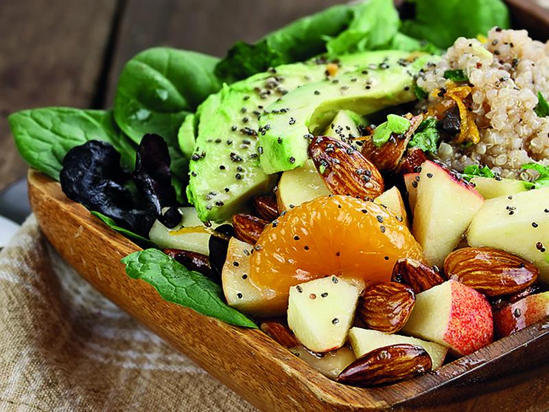 Quinoa Appel Salade