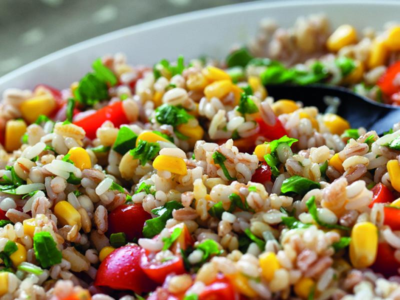 Italiaanse Rijstpasta Salade