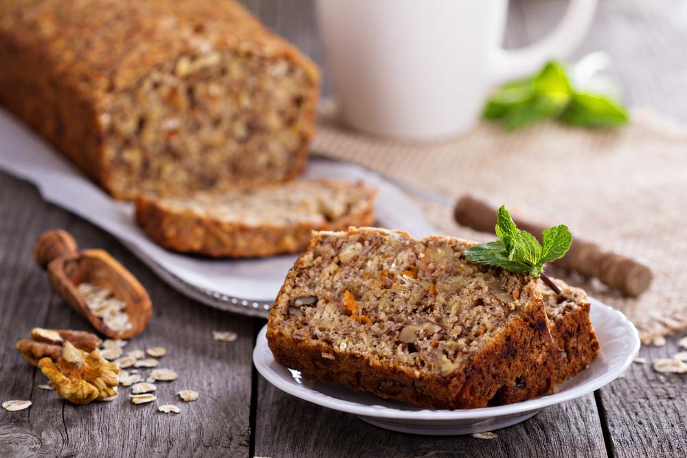 Banaan Wortel Brood