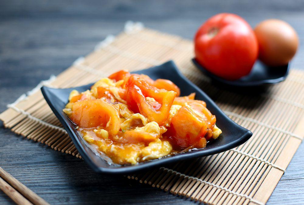 Chinese Tomaat Roerei