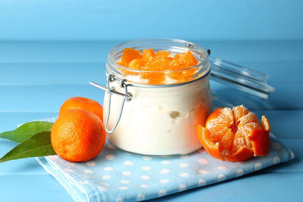 Mandarijnen Vanille Yoghurt