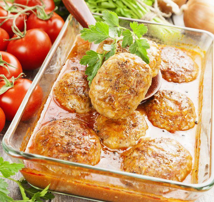 Lamsgehakt met Tomatensaus en Rijst